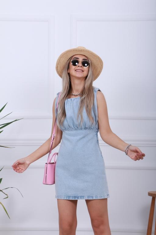 Mini Jean Elbise