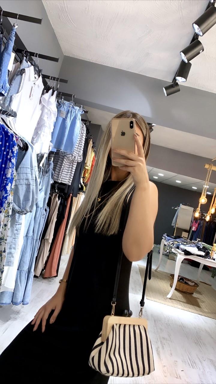 Siyah Basic Elbise